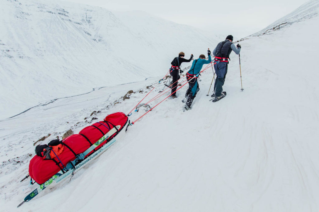 Weather Channel Live from the Field: 137 Miles Across the Arctic Wilderness