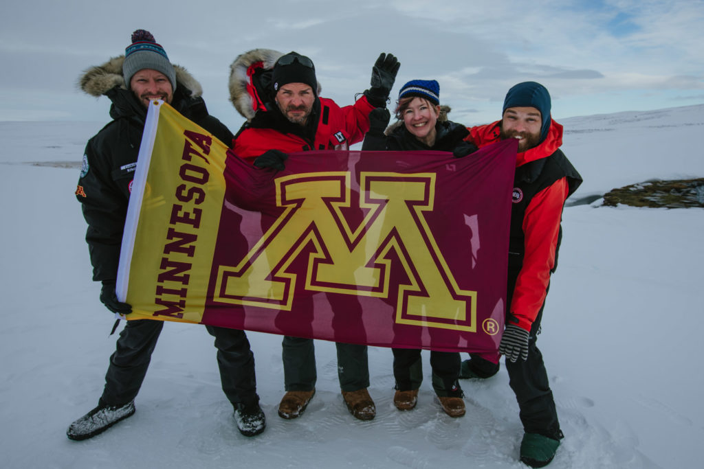 U Expedition Reveals Climate Challenge