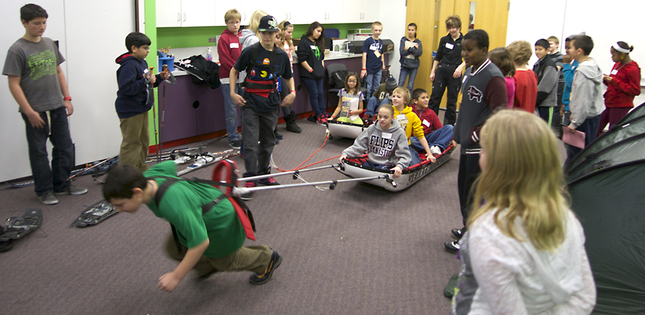 Students have a blast learning about WeExplore & Arctic adventure learning at Science Museum event