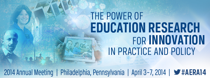 Doering presents three papers at AERA 2014 in Philadelphia