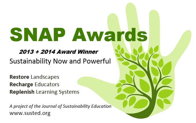 North of Sixty honored with SNAP Award from Journal of Sustainability Education