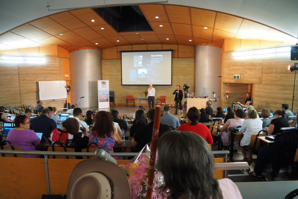 Doering keynotes teaching & learning conference at Charles Sturt University, Australia