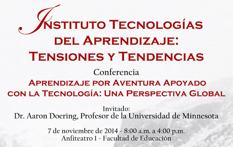 Poster for Instituto Tecnologías del Aprendizaje