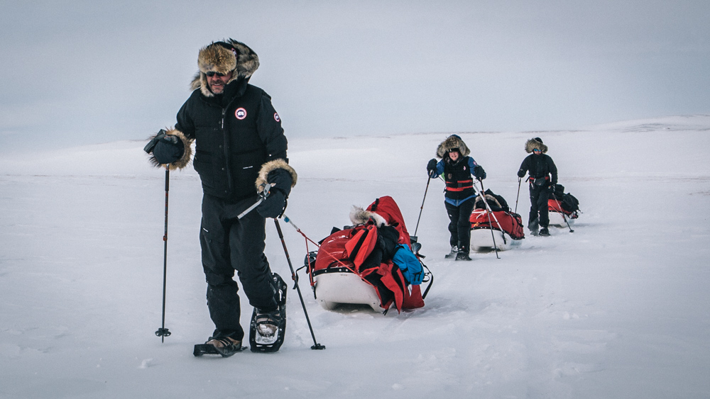 Doering's Changing Earth team completes 170-mile Arctic expedition to inspire global action