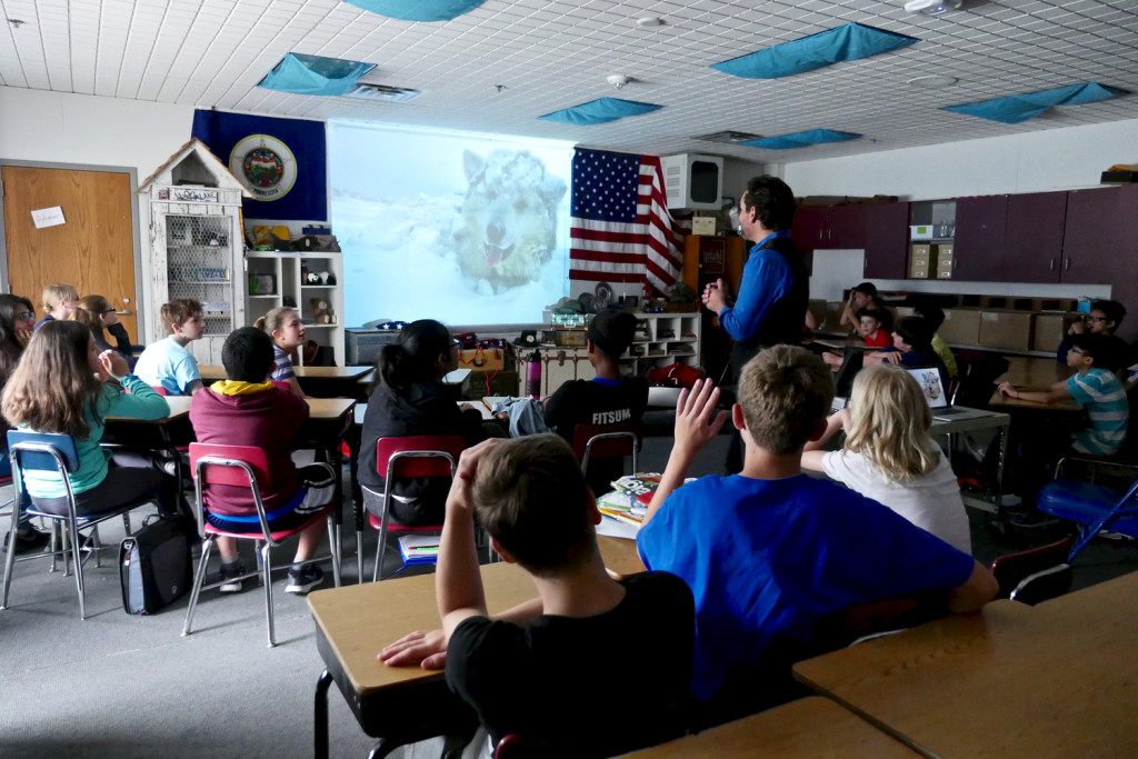 Doering explores all things Arctic with middle school students