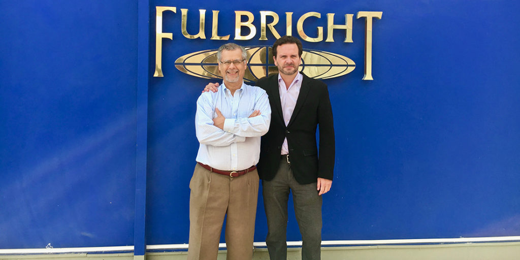 Doering presents keynote and workshop at Fulbright Peru