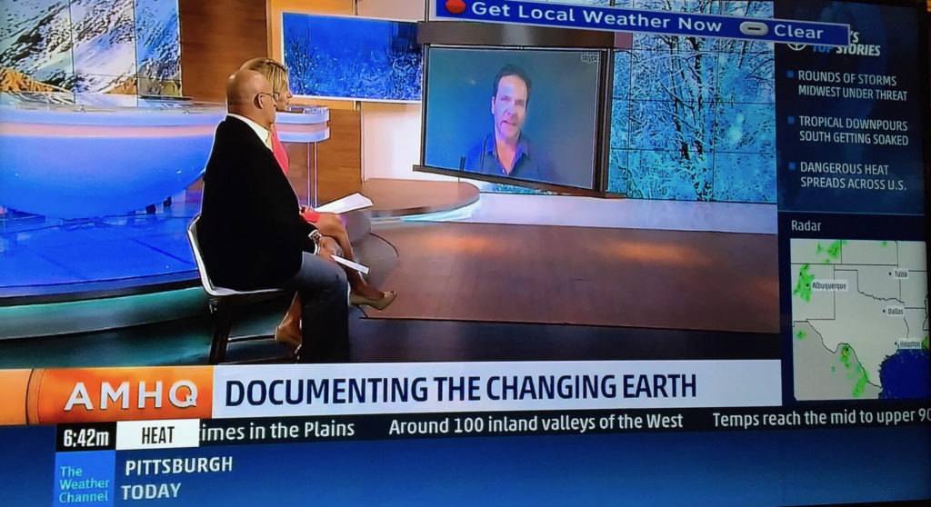 AMHQ Interview: Documenting the Changing Earth