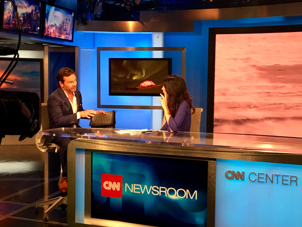 CNN International Interview: The Changing Earth